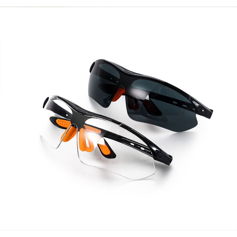 Clear Safety Spectacles Construction Anti Fog Laser Safety Glasses