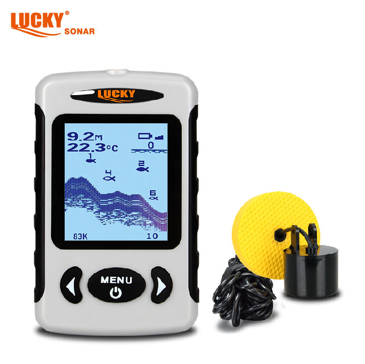 Lucky portable ice fishing fish finder with sonar technology