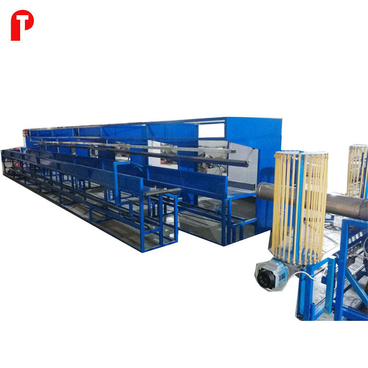 Insulated aluminum flexible duct pipe making forming machine