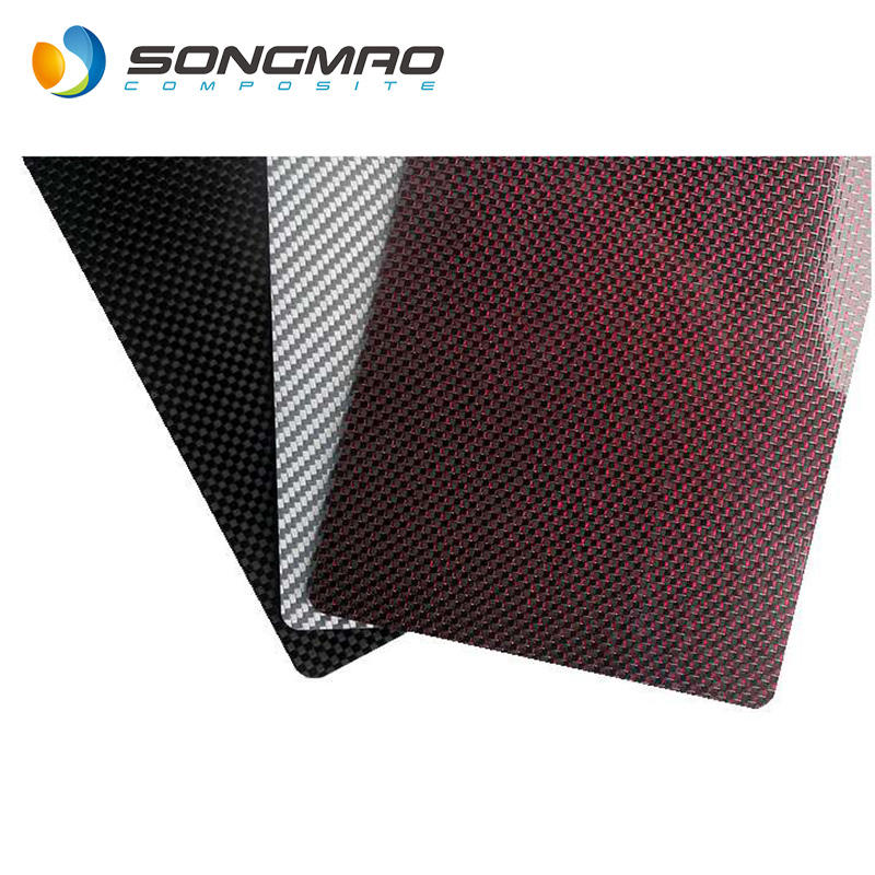 excellent property carbon fiber colour sheet large size