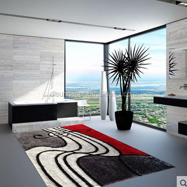 coloring 3d flooring decoration shaggy carpet rugs living room suppliers
