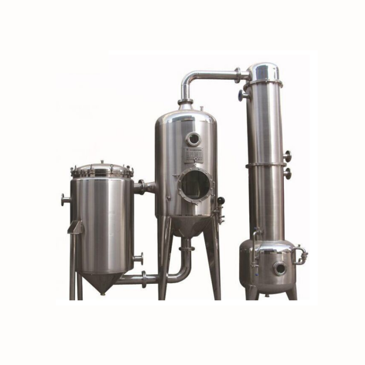 LPH Double-Effect Vacuum Juice Milk Condenser evaporator/ concentrator machine