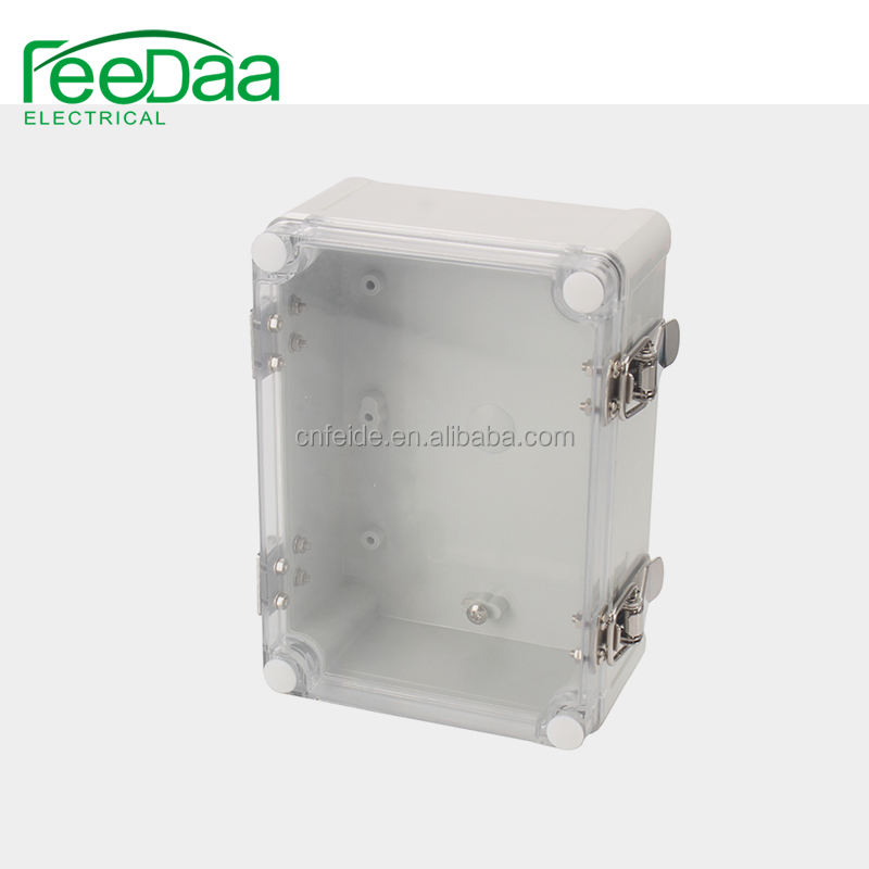 White Waterproof Plastic Electric Project Case Junction Box 60*36*25mm new~