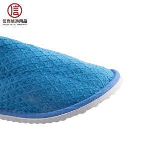 Hotel Supplies Production Spa Waffle Disposable Hospital Slippers