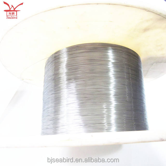 Wholesale ali baba super thin Niti wires 0.1mm diameter nitinol memory wire for sale