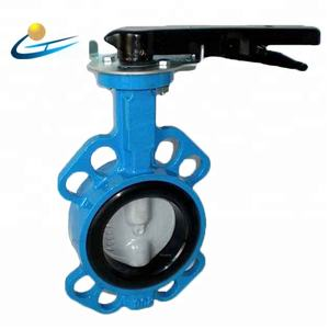 China Big Factory Good Price 24 inch wafer butterfly valve