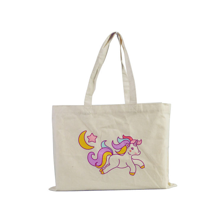 Wholesale reusable standard size pouch tote cotton bag