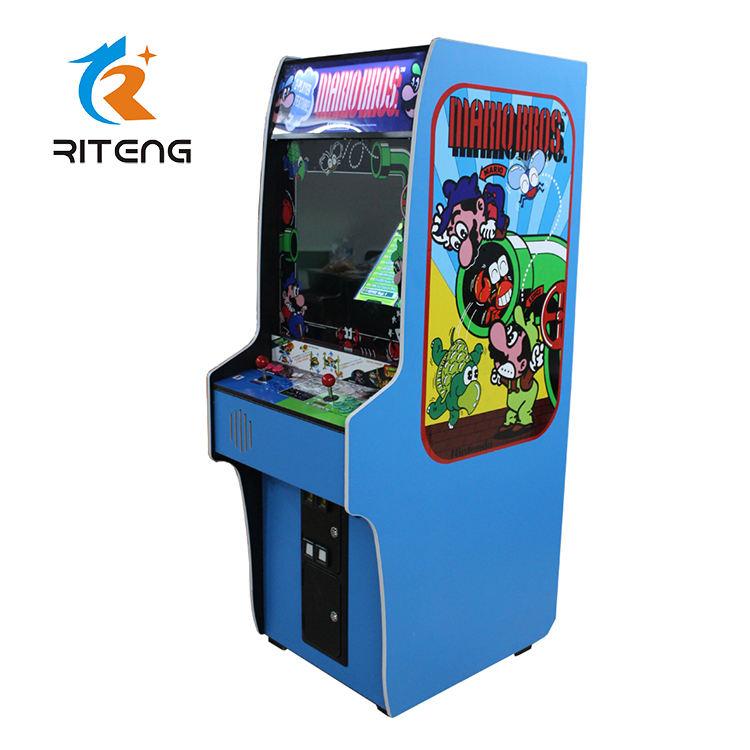 Hot vendas de diversões indoor jogo de arcade máquina máquina de arcada símbolo ms pacman
