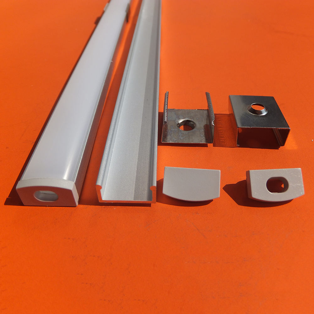 High Quality Square Aluminum LED Profile/LED Strip Aluminum Channel