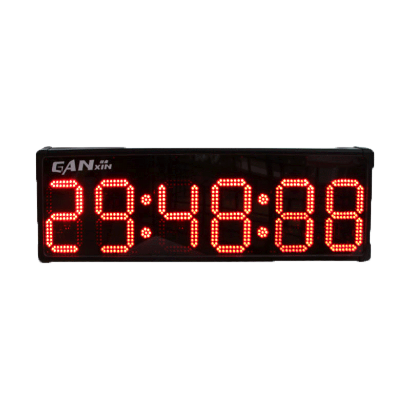 Ganxin Electronic Race Stopwatch Service Equipments Flexible Oled Displays Football Games Timer Double Side
