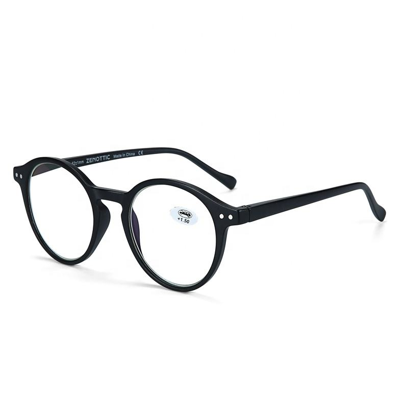 BT4203 New fashion plastic frame optical glasses blue light blocking glasses smart elegant reading glasses women men