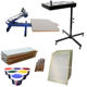 Tshirt DIY printing 1 colour 1 station screen printer easy operating screen printing machine