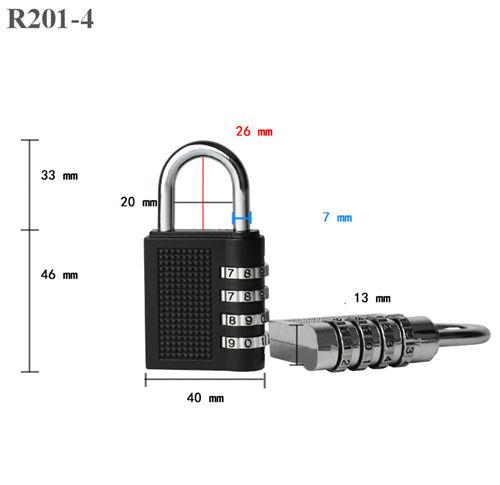 20mm Cerradura Mec/ánica de Contrase/ña de 3 C/ódigo Bloqueo digital codificado Seguro de Contrase/ña Para Armario