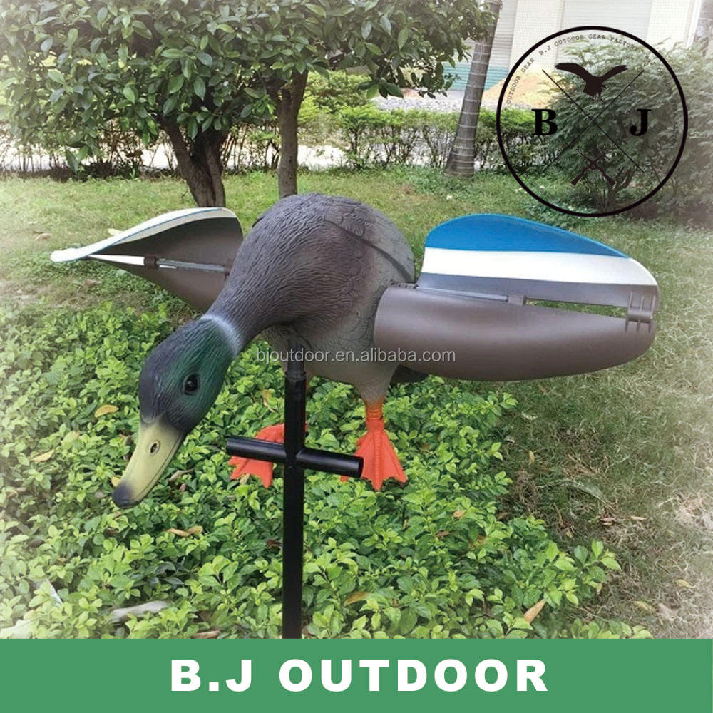 Duck decoy with motor swing duck hunting duck from BJ Outdoor