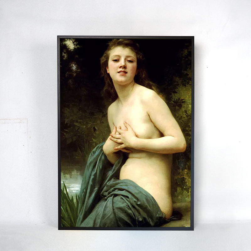 Classical famous woman body canvas art hand painted painting