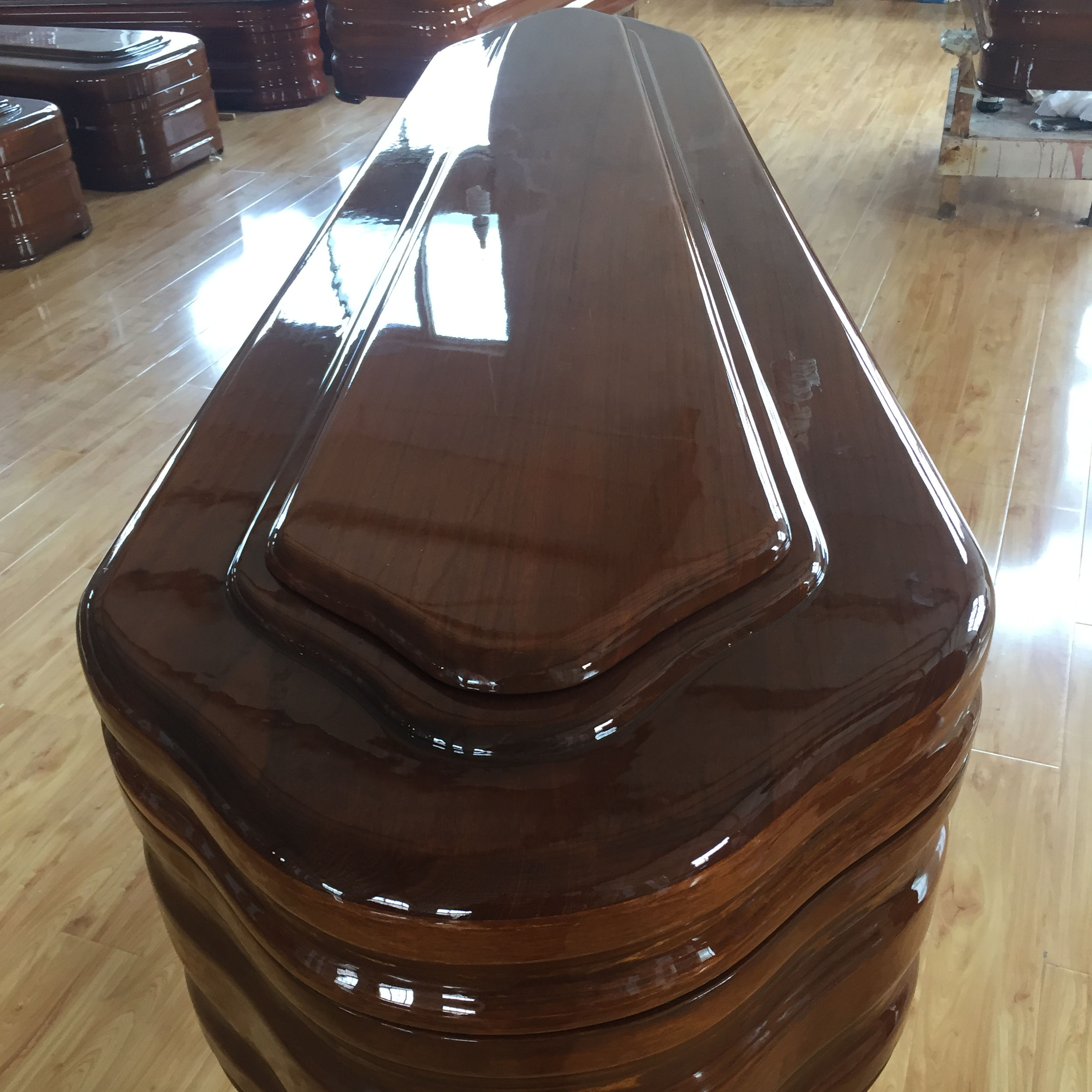 funeral wooden coffin European style