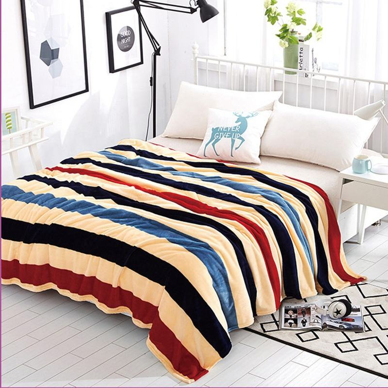 Printed Polyester Flannel Fleece Blanket