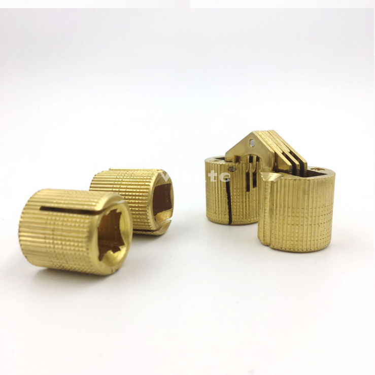 mini concealed hinge jewellery box concealed hinge small brass hinge 8mm