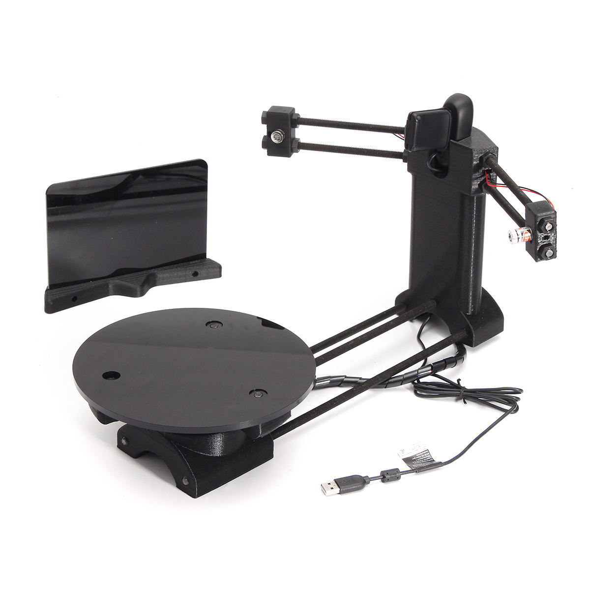 3D Open Source DIY 3D Scanner kit Advanced Laser Scanner w/ C270 Camera Ciclop 3D