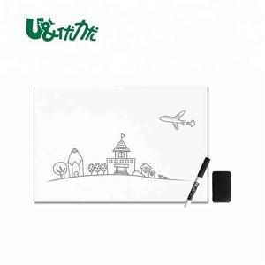 No Folded Whiteboard A4 size white board for office