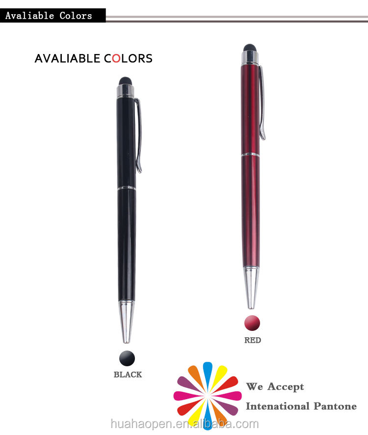 Huahao brand High quality ball point metal pens