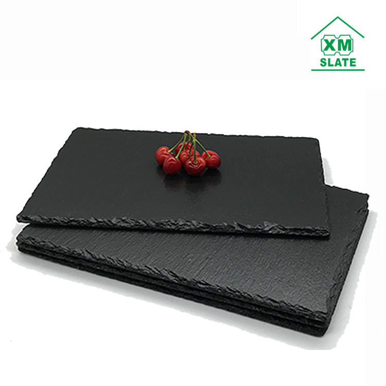 [factory direct ] Qulity guarantee Wholesale natural slate stone cheese sushi dishes series products