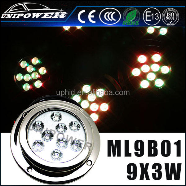 316 stainless steel casing 27W high power marine underwater led light