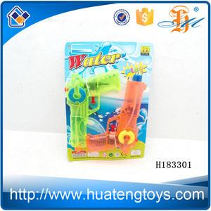 الساخن المنتجات اثنين h183301 nerf داخلي ألوان شفافة مدفع مياه لعبة للبيع