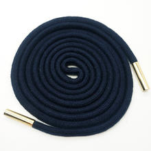 Custom Round cotton drawstring cord for garment