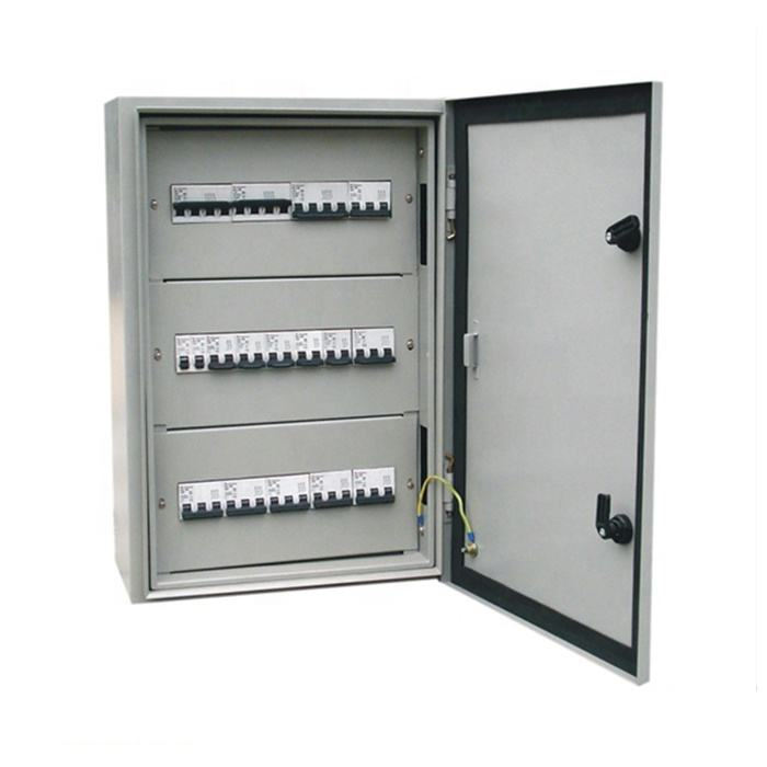 Outdoor marine control panel electrical distribution cabinet