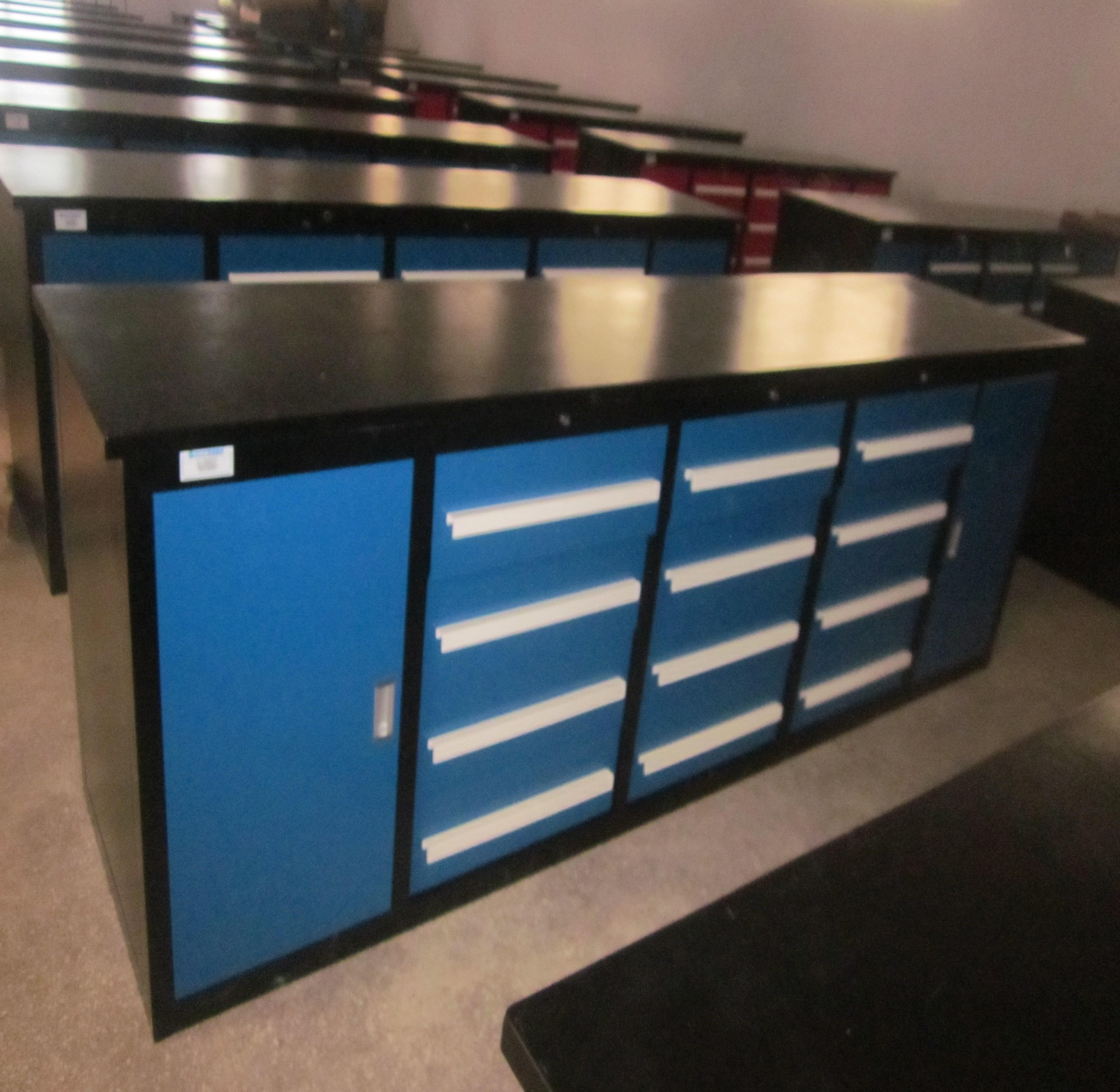10ft metal work bench tool cabinet/portable work bench
