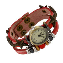 China Wholesale Diy Leather Bracelets Watch Wrap Bracelet Press Button Discount Cheap Price