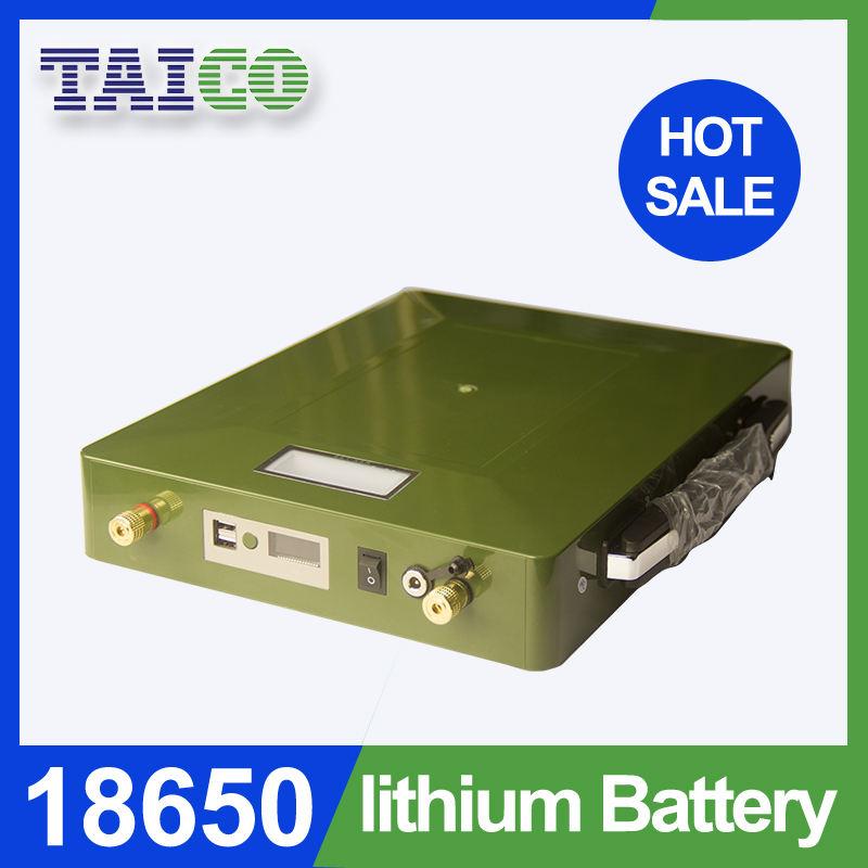 Dung Lượng cao Sạc Lithium Di Động <span class=keywords><strong>pin</strong></span> 12 V 50Ah để cung cấp điện