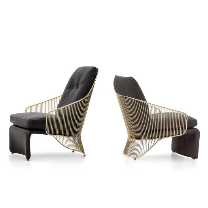 Popular Italy Rodolfo Dordoni latest design luxury Bergere colette armchair for sale