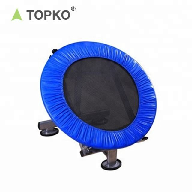 TOPKO Wholesale New Patent Mini fitness trampoline gym rebounder