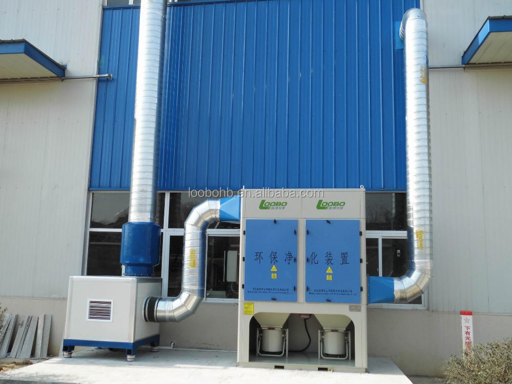 Direct factory supply Industrial dust collector / cyclone dust filter / fabric bag filter dust collector