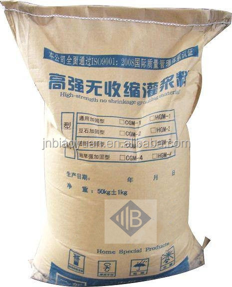 ready mixed preventing congealment non-shrink antifreeze grout antifreeze agent