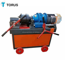 rebar thread rolling machine to produce ring nail and screw nail