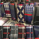 Mens Fashion Plaid and Checked Modal Bamboo scarves Men scarf
