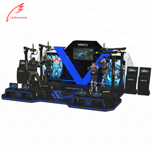 Most Profitable Machine Amusement Park Equipment Virtual Reality shooting player 4 KAT Walk VR Motion Simulator VR Shooting Game
