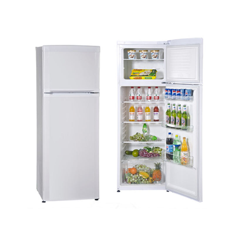 350L used double door refrigerator with cheap price