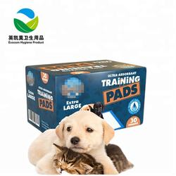 Customized brand super absorbent puppy training pee pads