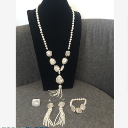 XY-CM1525 fashion  pearl necklace ,pearl necklace set,pearl necklace jewelry