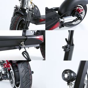 New Suspension Shock 2000watt Electric Transport Scooter