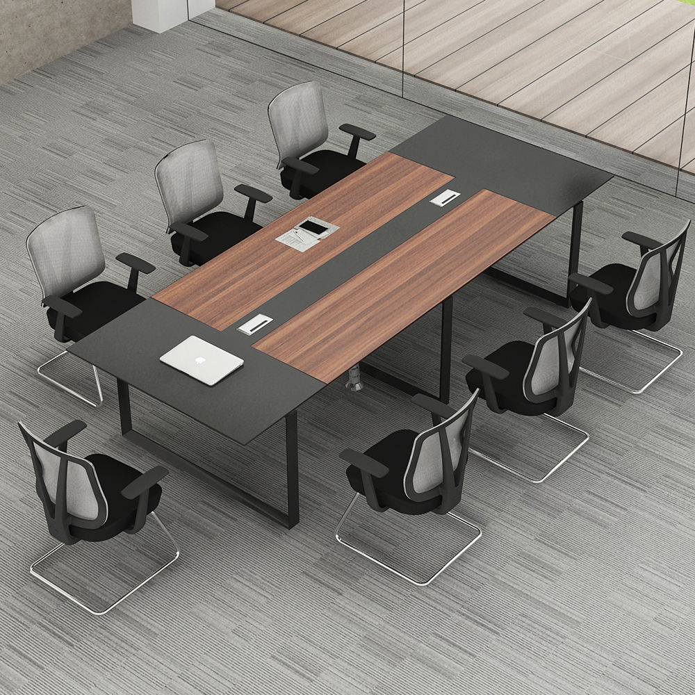 luxury modular home furniture round 12, 16, 18 person small MDF meeting room modern conference office table