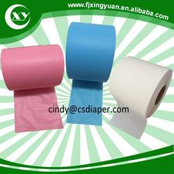 Raw materials for sanitary napkins