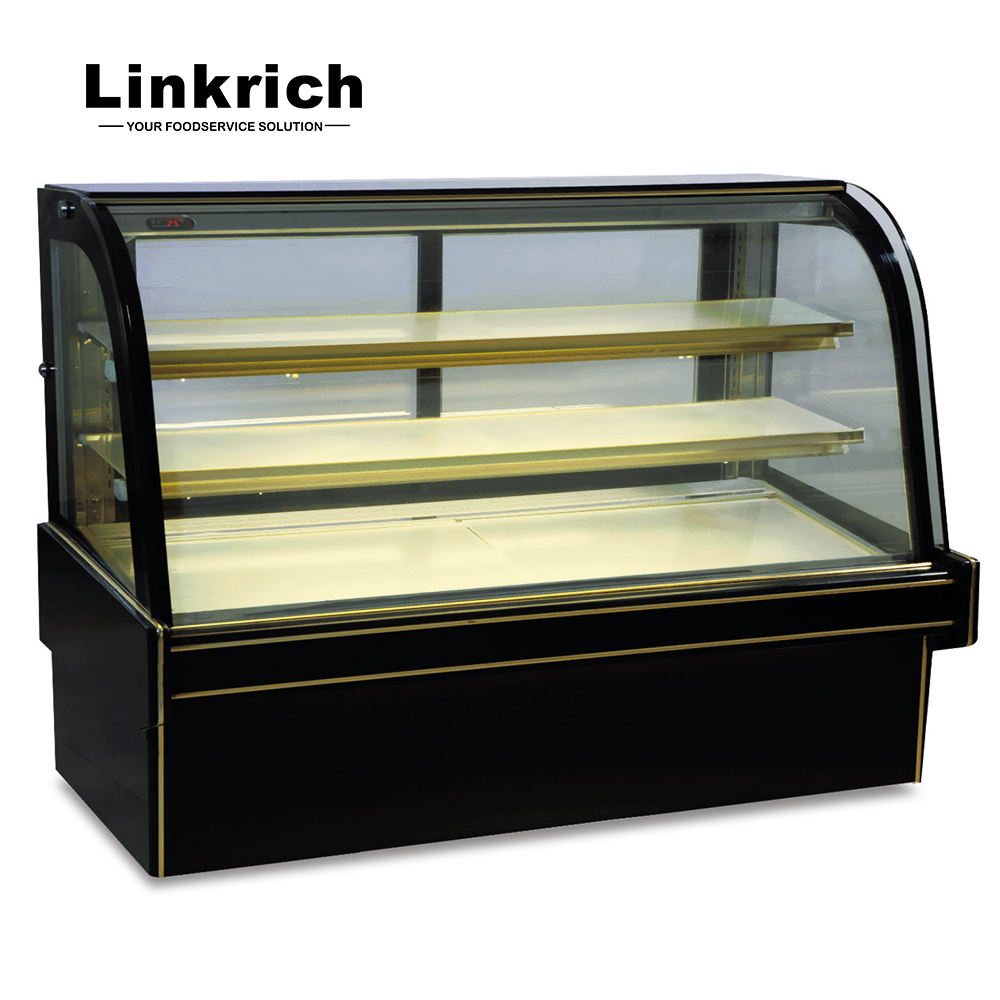 refrigeration equipment pastry display refrigerator/bakery showcase/cake showcase for bakery store