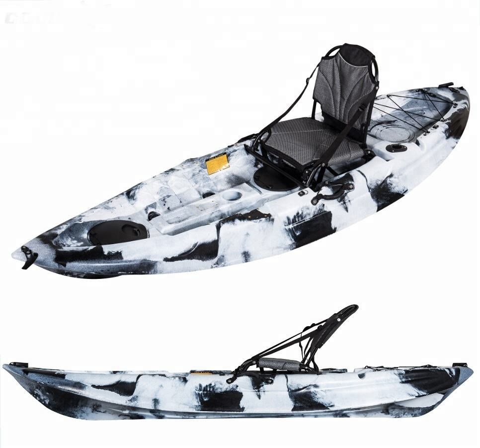 Stable Mola One Seater Sit On Top Canoe Sea Roto Molded Plastic Fishing Kayak Manufacturers for sale inChina