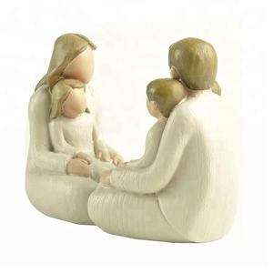 Resin Holy Family Figurines for Home Decoration