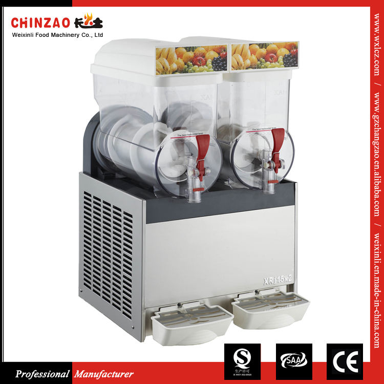 30L Double Tank Daiquiri Cocktail Granita Slush Machine Slushie Machine
